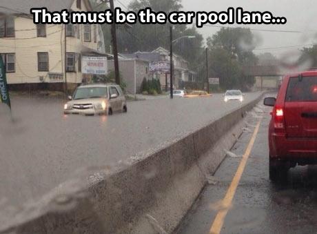 Car-pool-lane