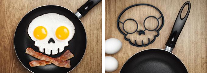 Skull-egg-shaper