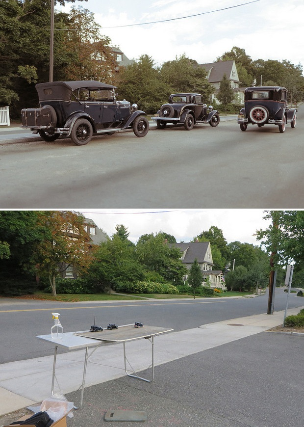 perspective on road